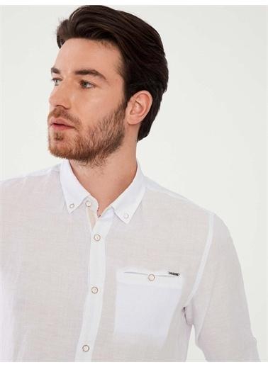 MCL Gömlek Beyaz